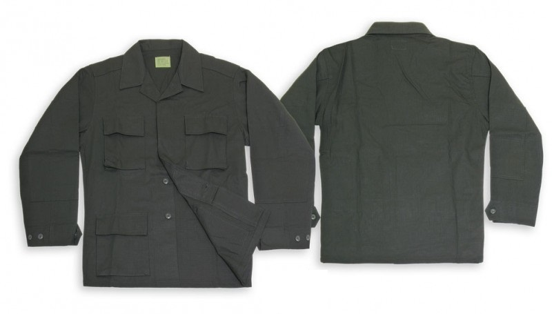 Куртка Teesar US BDU Fieldjacket Black р.XXL